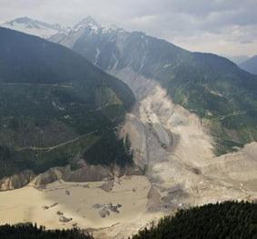 Mount Meager Landslide Assessment