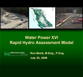 Rapid Hydropower Assessment Model