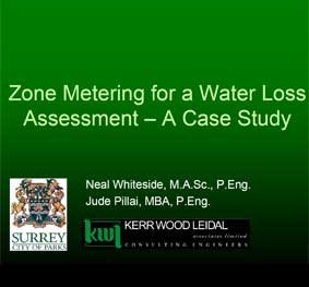 Zone Metering for a Water Loss Assessment – A Case Study