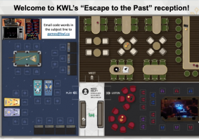 Escape to the Past at KWL's Networking Reception